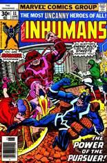 Inhumans (1975-1977) #11 Variant A