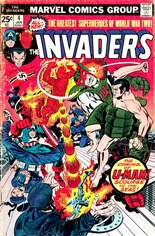 Invaders (1975-1979) #4 Variant A