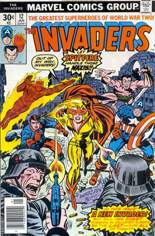 Invaders (1975-1979) #12 Variant A