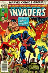 Invaders (1975-1979) #20 Variant A