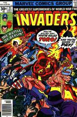 Invaders (1975-1979) #21 Variant A