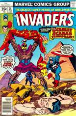 Invaders (1975-1979) #25 Variant A