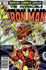 Iron Man (1968-1996) #151 Variant A: Newsstand Edition