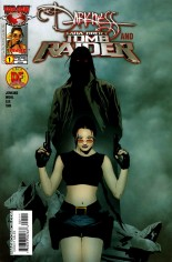 Darkness and Tomb Raider #1 Variant A: DF Edition