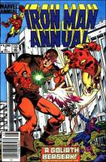 Iron Man (1968-1996) #Annual 7 Variant A: Newsstand Edition