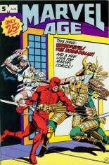 Marvel Age (1983-1994) #5