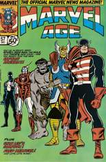 Marvel Age (1983-1994) #57: Captain America's New Look