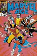 Marvel Age (1983-1994) #63: The X-Men TV Show