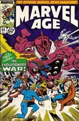 Marvel Age (1983-1994) #64: The Evolutionary War