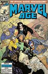 Marvel Age (1983-1994) #66: Special Strange Issue