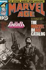 Marvel Age (1983-1994) #72: Punisher Movie; The Marvel Image Catalog