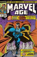 Marvel Age (1983-1994) #75: Doctor Strange 5-page preview