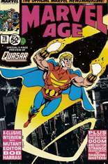 Marvel Age (1983-1994) #78: Quasar 5-page preview