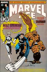 Marvel Age (1983-1994) #80: Walt Simonson on the Fantastic Four