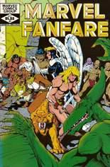 Marvel Fanfare (1982-1992) #4: Wraparound Cover