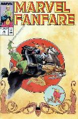 Marvel Fanfare (1982-1992) #34