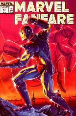 Marvel Fanfare (1982-1992) #44: Wraparound Cover