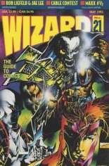 Wizard (1991-2011) #21 Variant A: Not Polybagged