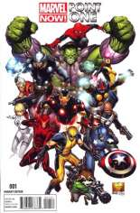 Marvel Now! Point One (2012) #1 Variant C: 1:50 Variant