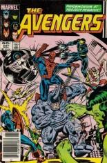Avengers (1963-1996) #237 Variant A: Newsstand Edition