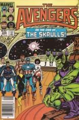 Avengers (1963-1996) #259 Variant A: Newsstand Edition