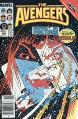Avengers (1963-1996) #260 Variant A: Newsstand Edition