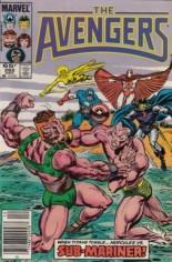 Avengers (1963-1996) #262 Variant A: Newsstand Edition