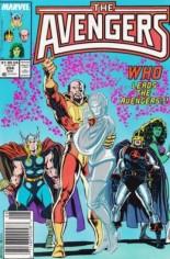Avengers (1963-1996) #294 Variant A: Newsstand Edition