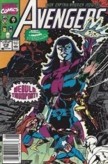 Avengers (1963-1996) #318 Variant A: Newsstand Edition