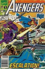 Avengers (1963-1996) #322 Variant A: Newsstand Edition