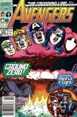 Avengers (1963-1996) #323 Variant A: Newsstand Edition
