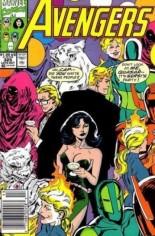 Avengers (1963-1996) #325 Variant A: Newsstand Edition