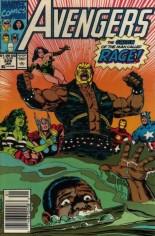 Avengers (1963-1996) #328 Variant A: Newsstand Edition