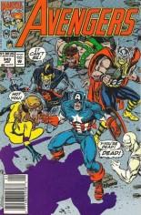 Avengers (1963-1996) #343 Variant A: Newsstand Edition