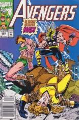 Avengers (1963-1996) #349 Variant A: Newsstand Edition