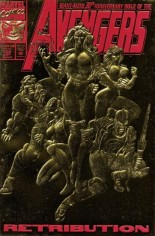 Avengers (1963-1996) #366 Variant A: Newsstand Edition; Gold Foil Embossed Cover