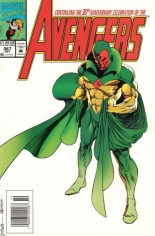 Avengers (1963-1996) #367 Variant A: Newsstand Edition