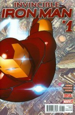 Invincible Iron Man (2015-2016) #1 Variant A