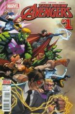 New Avengers (2015-Present) #1 Variant A