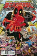 Deadpool (2016-2017) #1 Variant A