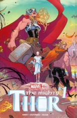 Mighty Thor (2016-2017) #1 Variant A: Wraparound Gatefold Cover