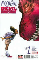 Moon Girl And Devil Dinosaur (2016-Present) #1 Variant A