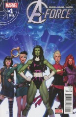 A-Force (2016) #1 Variant A