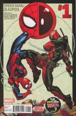 Spider-Man/Deadpool (2016-Present) #1 Variant A