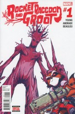 Rocket Raccoon And Groot (2016) #1 Variant A