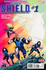 Agents of S.H.I.E.L.D. (2016) #1 Variant A