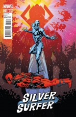 Silver Surfer (2016-Present) #1 Variant D: Incentive Deadpool Variant Cover