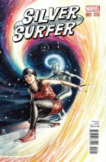Silver Surfer (2016-Present) #1 Variant E: Incentive Variant Cover