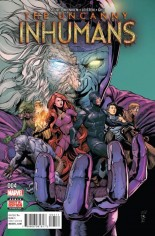 Uncanny Inhumans (2015-Present) #4 Variant A