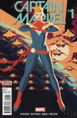 Captain Marvel (2016-2017) #1 Variant A